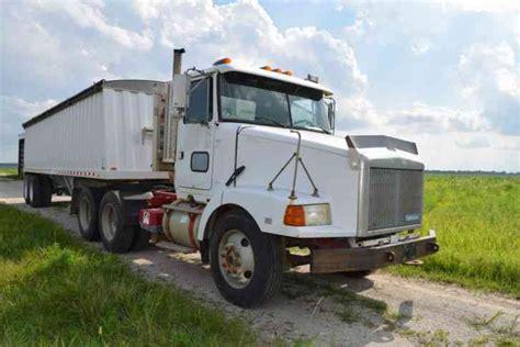 volvo semi tractor volvo white gmc 1994 daycab semi trucks