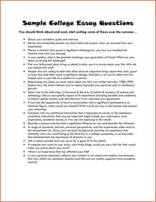 Writing Essays For College by Exles Of College Essays Summer C Entrepreneur College Admission Essay Exle 52568 Jpg
