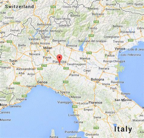 piacenza italy map archaeology of portable rock luigi chiapparoli has