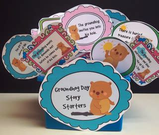 groundhog day journal prompts sweet tea classroom groundhog day story starters