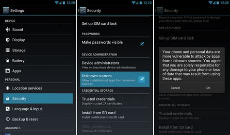 how to sideload apk how to install unauthorized apps on your android phone or tablet android root