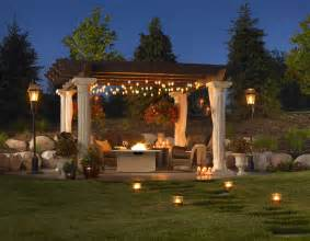 covered patio lighting ideas include the usage of hanging