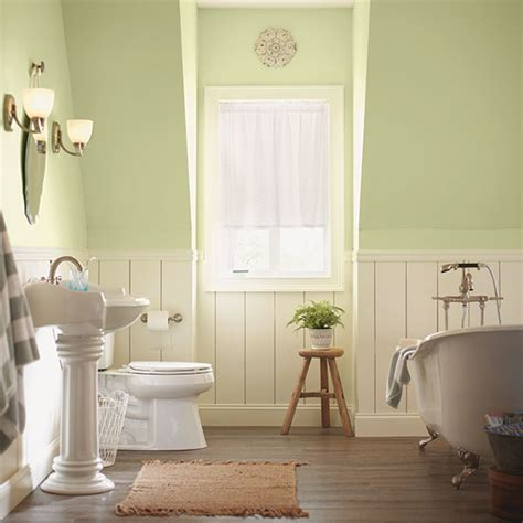 neutral green decorating with a pastel or neutral color scheme