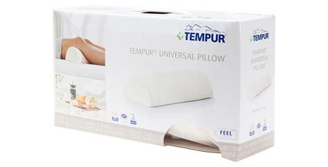 Tempur Universal Pillow by Tempur Universal Pillow Feather Black