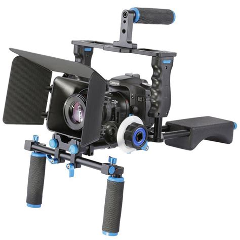 best dslr rig dslr rig stabilizer shoulder mount rig matte box