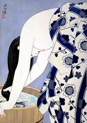 japanese illustration now 0500289700 kuchi e print by ito shinsui 1898 1972 published in the january of 1935