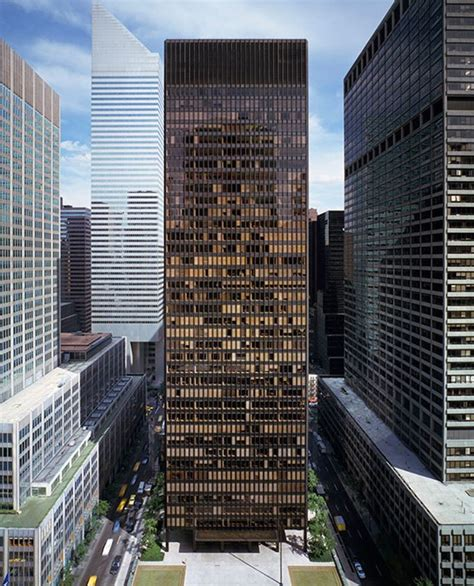ludwig mies van der rohe the seagram building new york revisiting the work of architect mies van der rohe