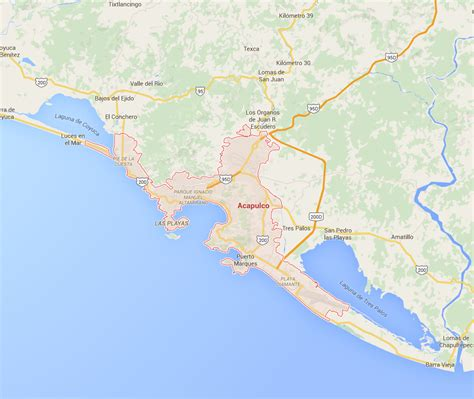 map acapulco mexico mexico s cartels turned a tourist mecca into
