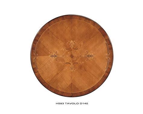 tavolo rotondo legno tavolo rotondo allungabile bicolore legno massello