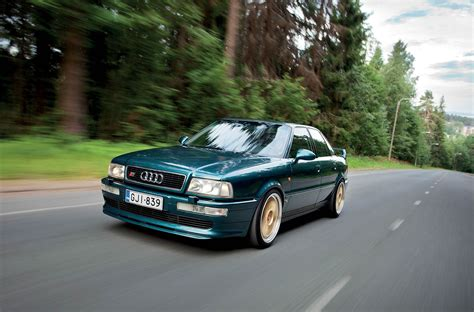 Audi 80 S2 by Audi 80 B4 1994 Audi S2 Saloon Road Test Drive