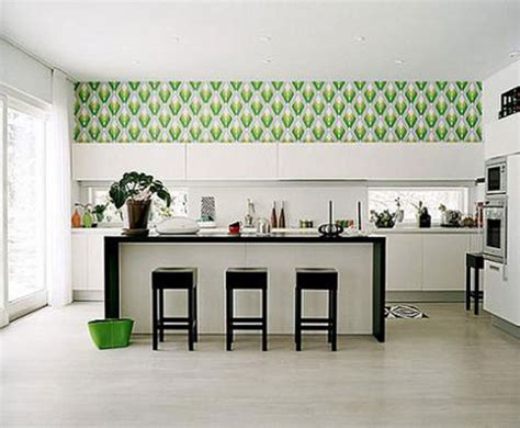 wallpaper in kitchen ideas kitchen wallpaper ideas uk archives home design