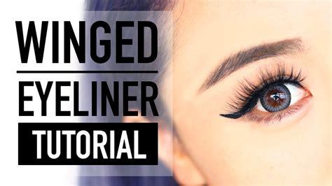 eyeliner tutorial for beginners youtube how to do winged eyeliner for hooded eyes tutorial cat