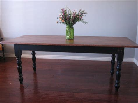 repurposed furniture phoenix european paint finishes black farmhouse table