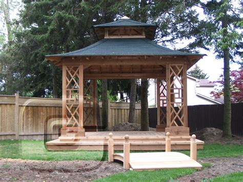 Backyard Sheds And Gazebos by Japanese Style Gazebo Plans Search Gardening
