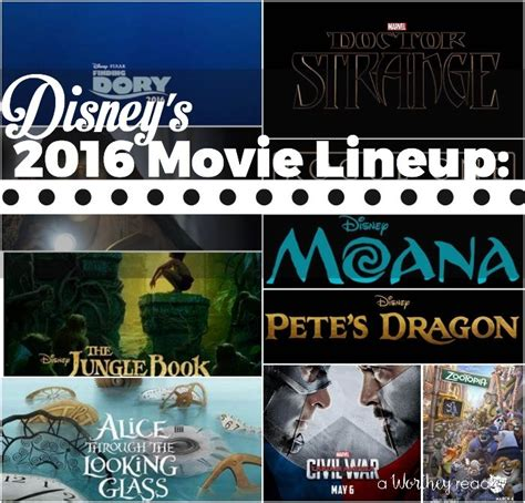2016 film lineup disney s 2016 movie lineup movies dropping this year a