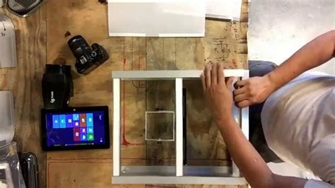 i want to build a home how to make diy photo booth kiosk from aluminum channel