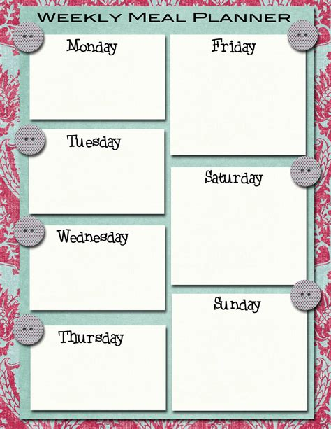 monthly meal plan 2 fb crafts pinterest meals meal planner