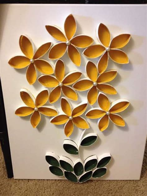 Bunga Roll Membuat Kerajinan Tangan Dari Roll Tissu Bekas Kumpulan