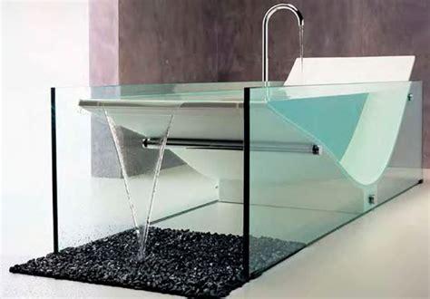 vetro vasca da bagno vasche in vetro bagno
