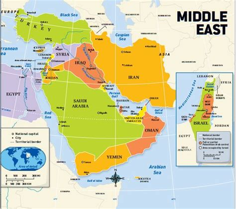 middle east city map this is a political map of the middle east it shows the