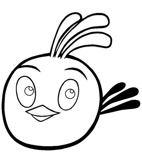Kolorowanka Angry Birds Stella malowanka nr 32
