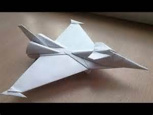 Origami Jet - origami paper origami aircraft how to make origami