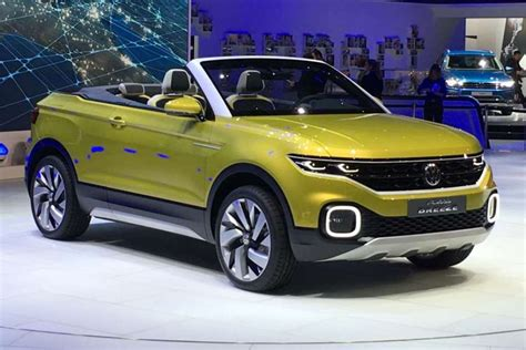 Geneva 2016: Volkswagen shows T Cross Breeze convertible