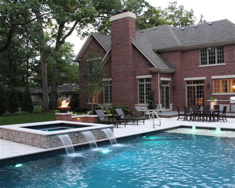 hot tub waterfall ideas pictures remodel  decor