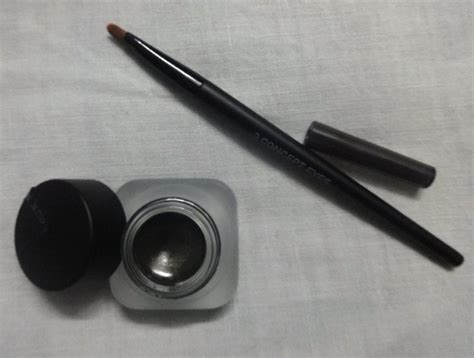 3ce Gel Eyeliner Brush 3ce glitter khaki gel eyeliner review