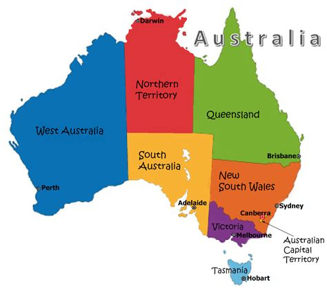 states in australia map map of australia states and territories 28 images