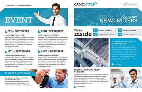 word newsletter templates psd indesign indd