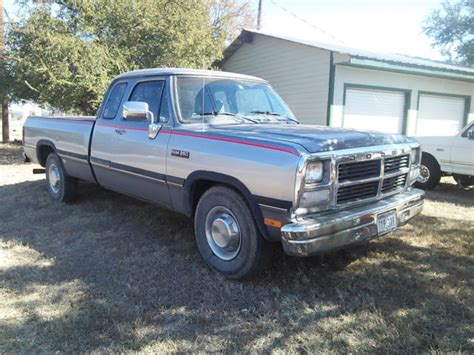 old car manuals online 1992 dodge ram wagon b150 electronic valve timing 1992 dodge ram cummins extended cab classic dodge ram 2500 1992 for sale