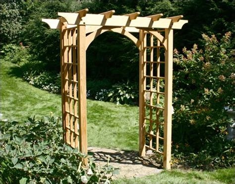 Japanese Wedding Arch by Garden Arbors And Trellises