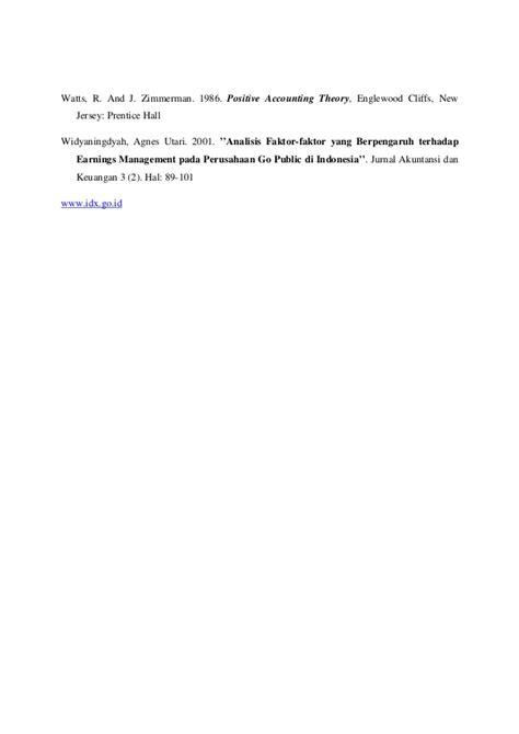 Buku Manajemen Laba Teori Dan Model Empiris By Sri Sulistyanto jurnal analisis manajemen laba dan kinerja keuangan perusahaan pengak