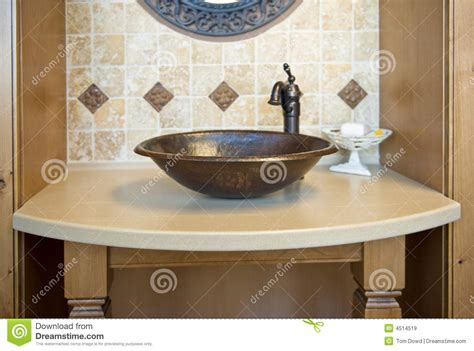 fancy bathroom sinks decorative bathroom sink royalty free stock images image 4514519
