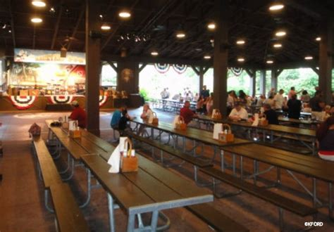 mickey s backyard barbecue dining location fort wilderness pavilion