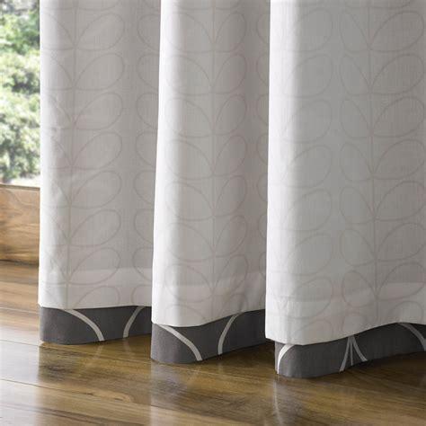 curtains 229 x 137 buy orla kiely linear stem eyelet curtains charcoal