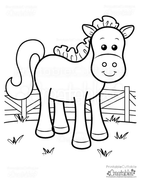 coloring pages printable cuttable creatables
