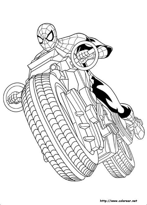 imagenes de spiderman para dibujar faciles dibujos para colorear de ultimate spider man