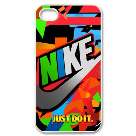 Iphone 4 4s Nike Just Do It Colorfull Hardcase Colorful Nike And Just Do It Custom For Iphone 4 4s