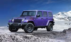 Jeep Louisiana 2016 Jeep Wrangler Backcountry Goes Plum For La Show
