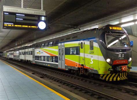 stazione porta garibaldi orari treni servizio ferroviario suburbano di