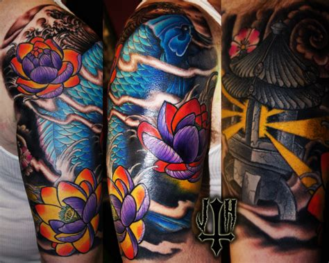 tattoo koi studio james haun tattoo gallery fattys tattoos piercings