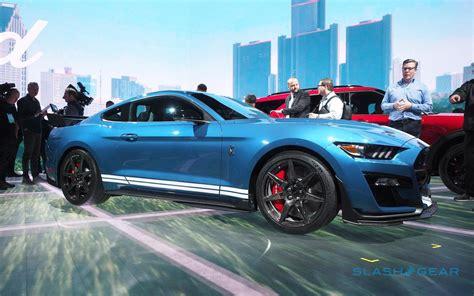 2020 Mustang Shelby Gt350 by 2020 Mustang Shelby Gt500 Look King Cobra Slashgear