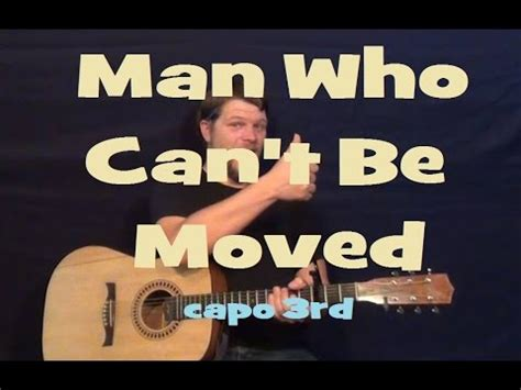 tutorial guitar the man who can t be moved hqdefault jpg