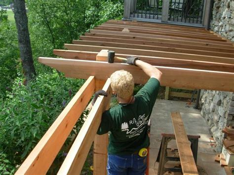 pergola rafter end designs 70 best images about deck on railing design