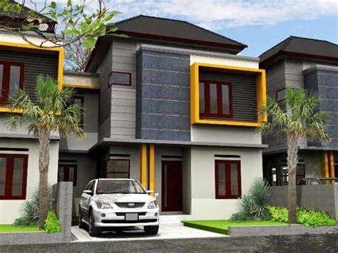 Rumah Citra 5 Ukuran 6x12 5 M contoh desain rumah 2 lantai yang modern renovasi rumah net