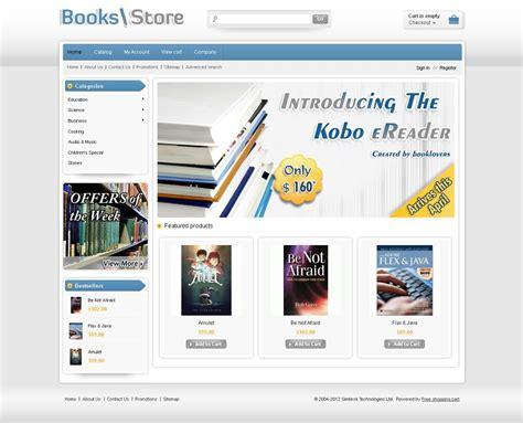 Cst010016 Premium Cs Cart Book Store Template Cs Cart Premium Templates