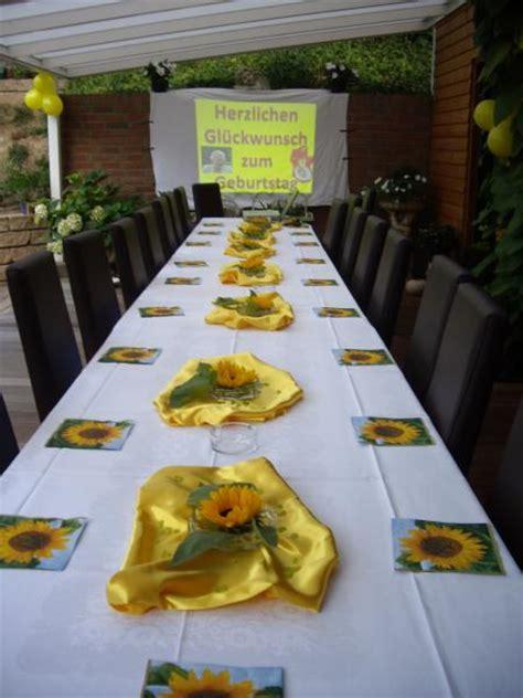 Tischdeko Mit Sonnenblumen by Deko Zu Verschiedenen Anl 228 Ssen Fotoalbum Sonstiges Bei