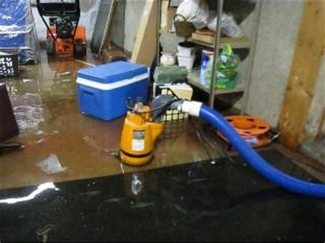 basement water removal service helpful tips